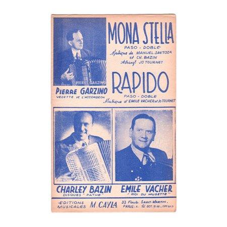 ヴァシェ,エミール  《Mona Stella / Rapido》