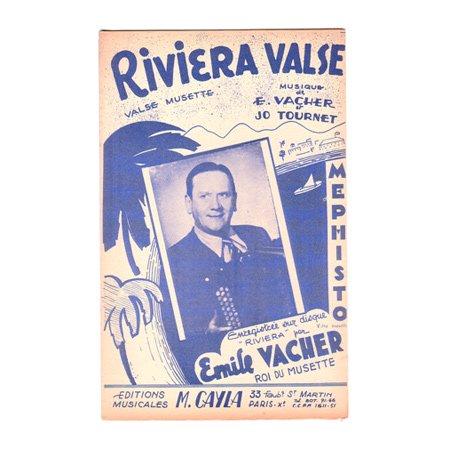 ヴァシェ,エミール 《Riviera Valse / Mephisto》 ワルツ・ミュゼット