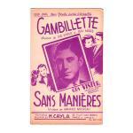 ヴィズール,ギュス 《Gambillette / Sans Manieres》