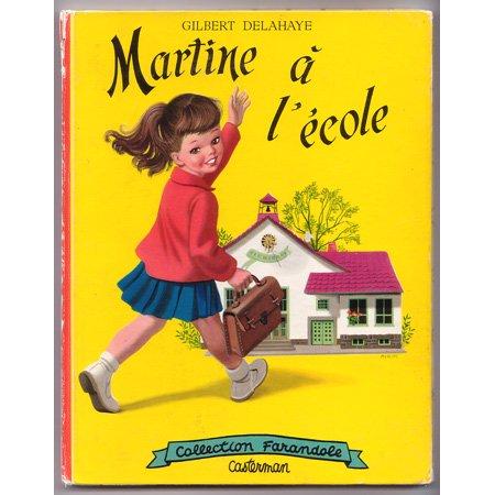 『マルティーヌちゃん、小学校へ』 1957年