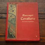 マスカーニ 《カヴァレリア・ルスティカーナ》 アンティーク楽譜