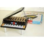 アンティーク トイピアノ 8鍵 外箱・楽譜付き
