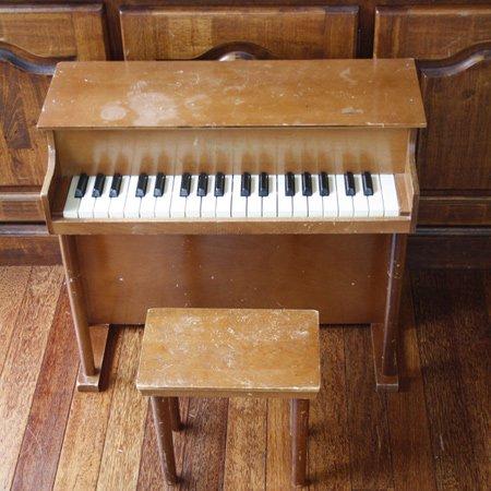 アンティーク トイピアノ シェーンハット 37鍵 椅子付