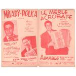 エマーブル 《Le Merle Acrobate/ Milady Polka》