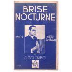コロンボ, ジョゼフ 《Brise Nocturne 》ワルツ・ミュゼット