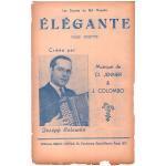 コロンボ, ジョゼフ  《ELEGANTE -Valse Musette 》ワルツ・ミュゼット