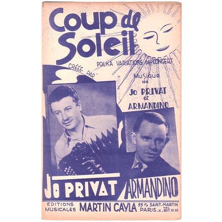 プリヴァ,ジョ 《Coup de soleil》