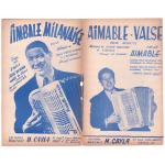 エマーブル 《Aimable Valse/ Timbale Milanaise》