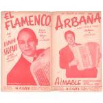 エマーブル 《Arbana / El Flamenco 》パソドブレ
