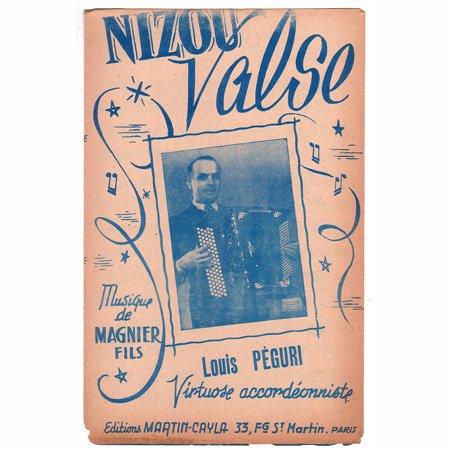 ペギュリ,ルイ 《Nizou-Valse》