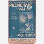 フェラーリ,ルイ 《Promenade-Valse》