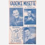 プリヴァ,ジョ 《Cadence Musette》