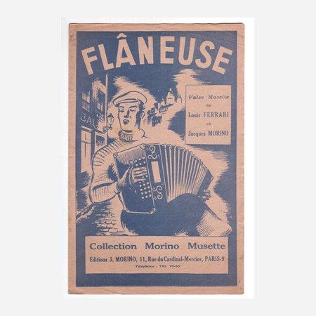 《Flaneuse Valse》 ルイ・フェラーリ