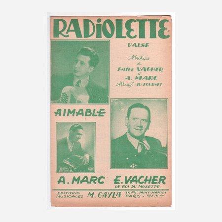 エマーブル 《Radiolette / Coeur de Musette》