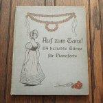《ウィーン、ドイツの114の舞曲》 アンティーク楽譜