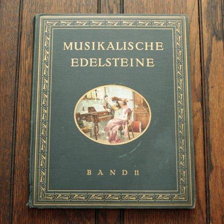 《音楽の宝石 第11巻》ドイツ アンティーク楽譜