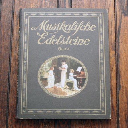 《音楽の宝石 第6巻》ドイツ  A アンティーク楽譜