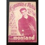 イヴ・モンタン 《パリの悪戯っ子》