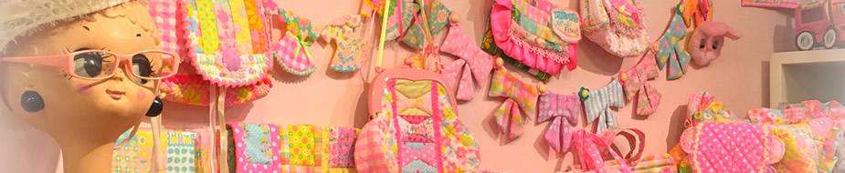Antique Fabric Pinks