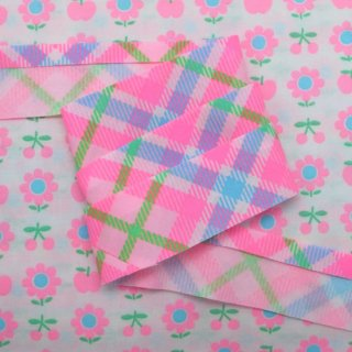 ☆Winter Sale☆ バイアステープ Lovely Check 3yard〜 ライトピンク 【10%OFF】