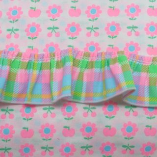 ☆新春 Sale☆ FuriFuri Lovely Check (ライトブルー)  【10%OFF】