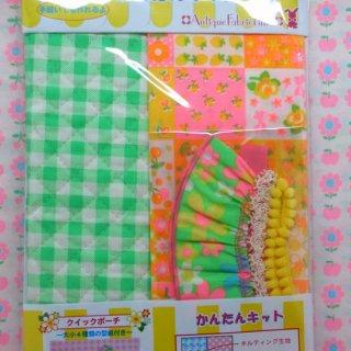 pinksオリジナルかんたんキット クイックポーチ EK7612