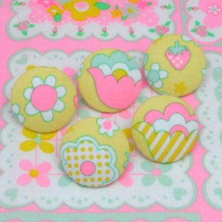 <img class='new_mark_img1' src='//img.shop-pro.jp/img/new/icons12.gif' style='border:none;display:inline;margin:0px;padding:0px;width:auto;' />ファブリックボタン 5個セット 8658 20%オフ
