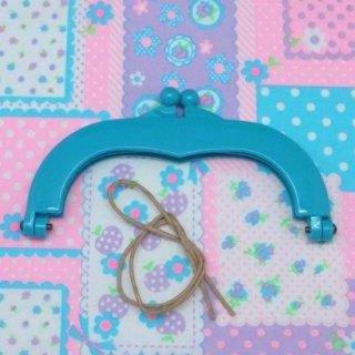 おすすめ手芸用品 14999 プラスチックがま口フレーム ブルー