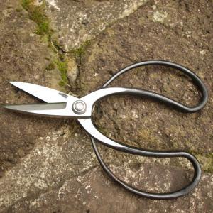 鋏・鋸(輪鋏・剪定鋏・刈込鋏・革ケース、他) 輪鋏(植木鋏)キリバシ