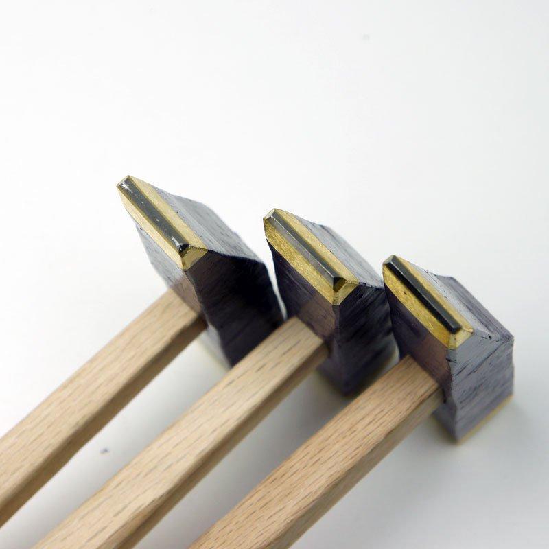 近藤石工道具製作所 トンカチビシャン 柄付【画像4】