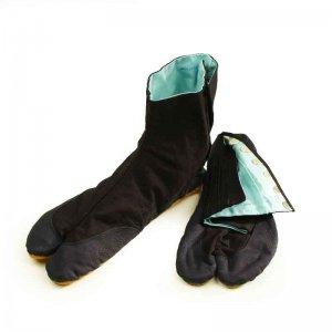 根巻き・幹巻き材 きねや 青縞地下足袋 こはぜ7枚