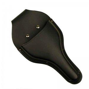 鋸・鋏ケース・道具袋類 花吹雪 革ケース(台曲) 輪鋏2〜3寸刃用 CB-01 マットブラック