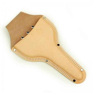 鋸・鋏ケース・道具袋類 花吹雪 革ケース 松葉鋏用(台曲2重縫)C-13