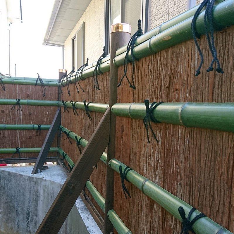 垣根・屋根材用 天然杉皮2尺(1坪分)【画像3】