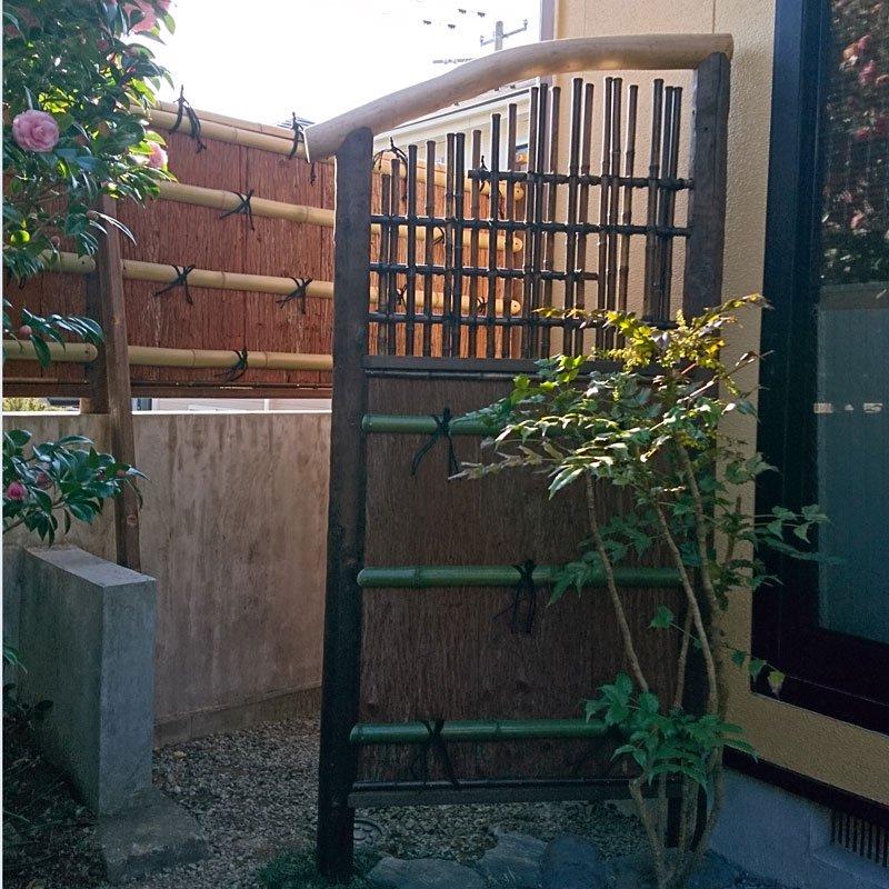 垣根・屋根材用 天然杉皮2尺(1坪分)【画像5】