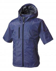 庭職衣装(足袋・脚絆・手甲・乗馬ズボン、他) 快適ウェア 半袖フードジャケット