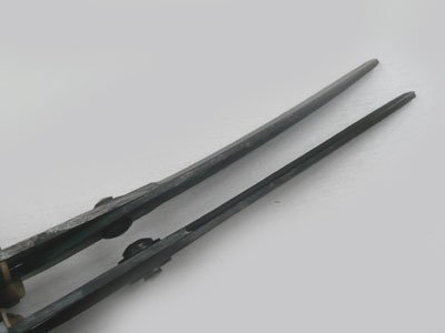 山型 刈込鋏(反刃) 180ミリ【画像3】