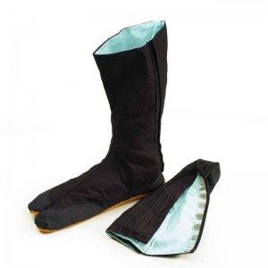 足袋・脚絆 きねや 青縞地下足袋 こはぜ12枚
