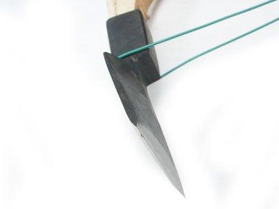 与板釿鍛冶 高木工業所 高木順一氏作 釿(手斧・ちょうな) 東型【画像3】