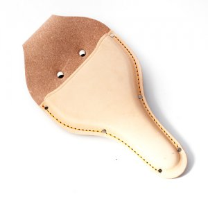 鋸・鋏ケース・道具袋類 花吹雪 革ケース(台曲) 輪鋏2〜3寸刃用 C-01