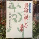 NHK趣味百科 書道に親しむ 漢字 平成6年4月〜6月