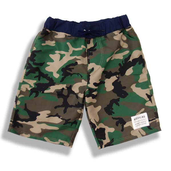 highking ハイキングbeach shorts毎年大人気highkingのスイムショーツ! ビーチショーツカモフラージュ