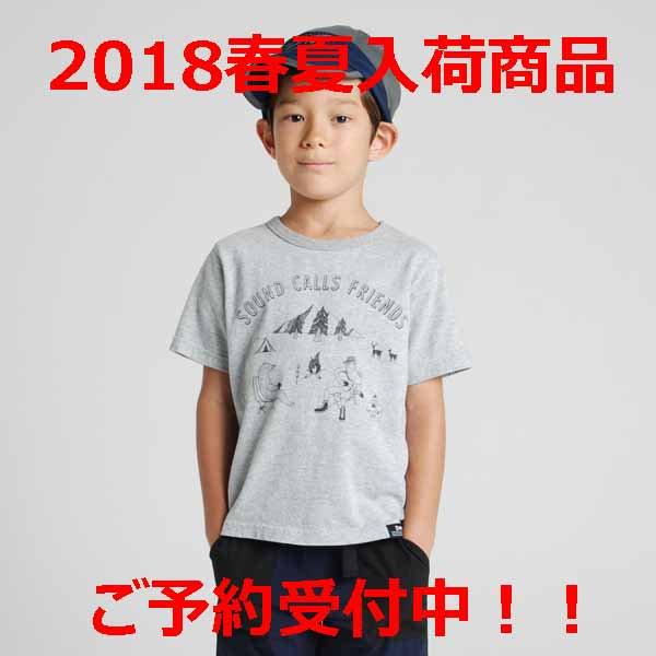 ◆2018春夏入荷予定商品◆highking ハイキングfriends short sleeveフレンズショートスリーブグレー