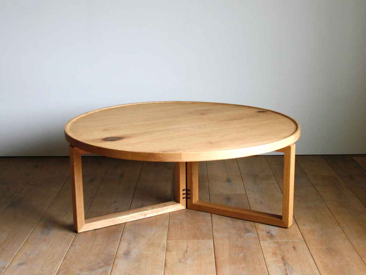 OUTLET SPAGO Circle Table 084 oak