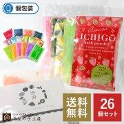 【送料無料】入浴剤バラエティ30個セット(ポケット付OP袋入)