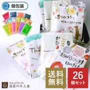 【送料無料】入浴剤バラエティ30個セット(ポケット付OP袋入)カード付