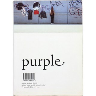 Purple Number 6, Winter '00 '01