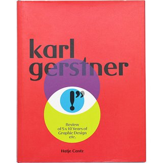 Karl Gerstner: Review of 5 X 10 Years of Graphic Design etc. カール・ゲルストナー