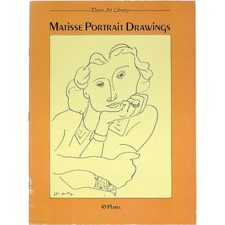 Matisse Portrait Drawings: 45 Plates (Dover Art Library) マティスの肖像素描:45点