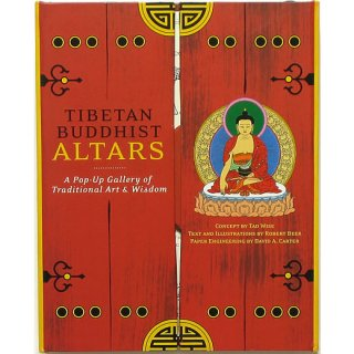Tibetan Buddhist Altars: A Pop-up Gallery of Traditional Art & Wisdom ポップアップ・ブック